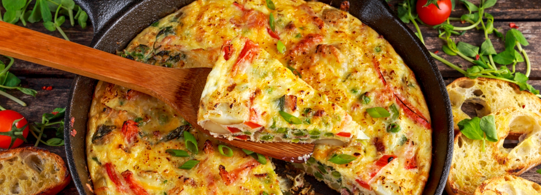 Omelet with yamboon